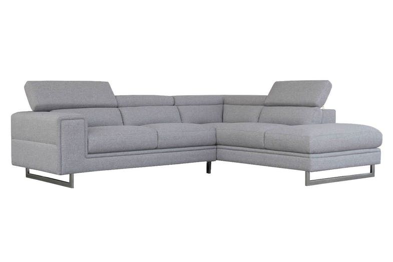 Laguna 2 Seater Fabric Sofa With Chaise Fabric Sofa Couch Chaise