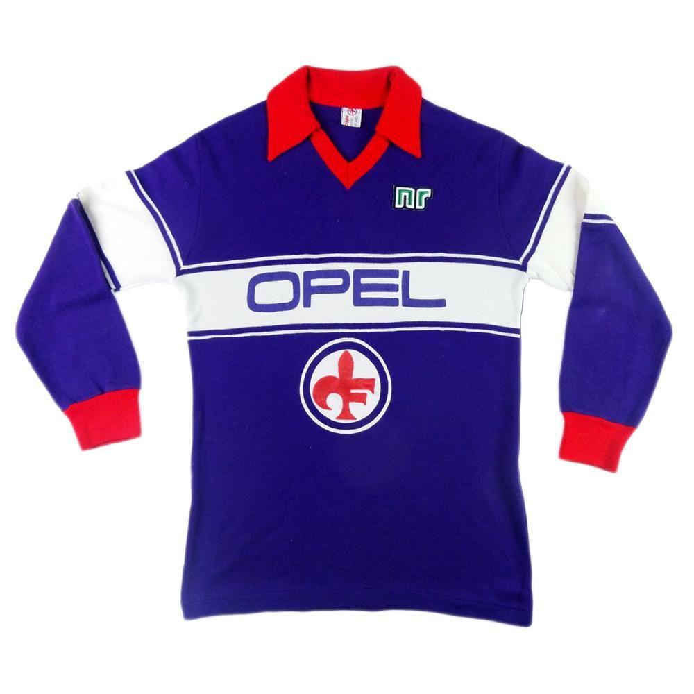 1983-84 Fiorentina Maglia Home #10 Antognoni (Top)   Maglie ...