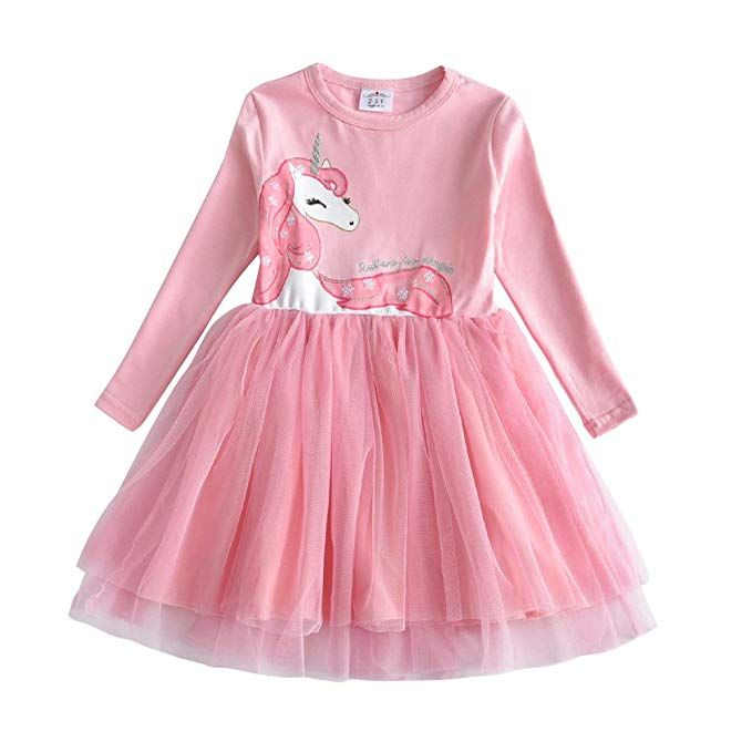 2be087103 Amazon.com  VIKITA Winter Toddler Girl Clothes Cotton Long Sleeve ...