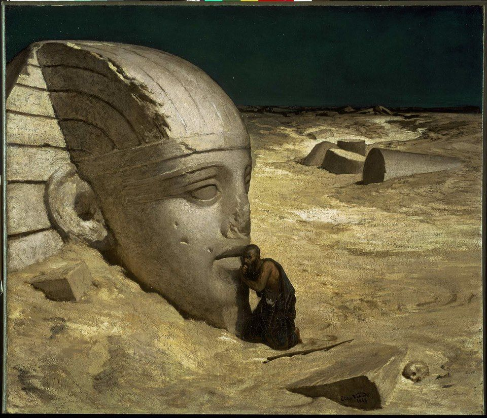"""""""The Questioning of the Sphinx."""" How Elihu Vedder, a"""