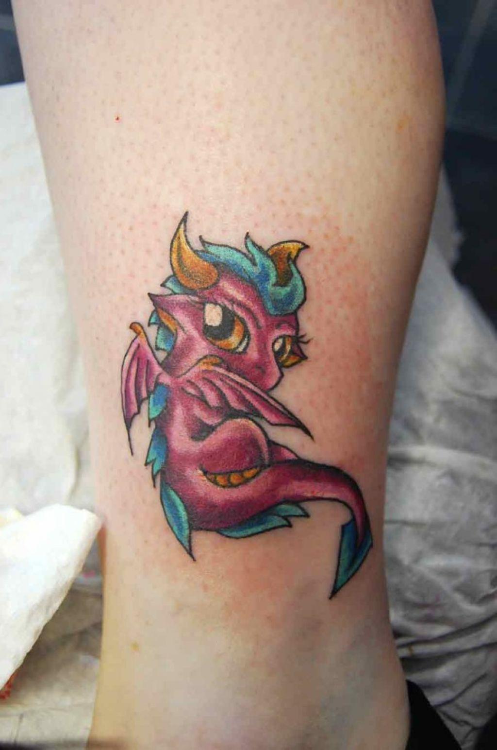 Cute baby dragon tattoos ideas dragon tattoo pinterest for Baby dragon tattoos