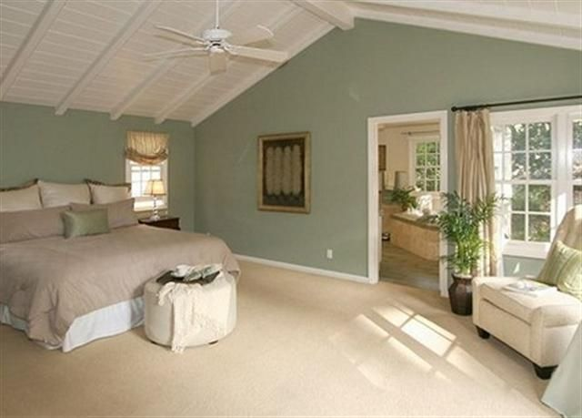Awesome Seafoam Green Bedroom Love The Wall Color