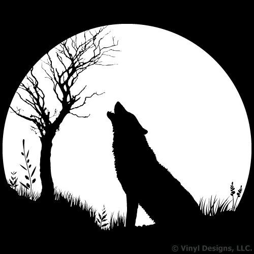Image Result For Pictures Of Wolves Howling At The Moon