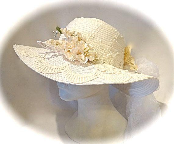 Ivory Lace Hat