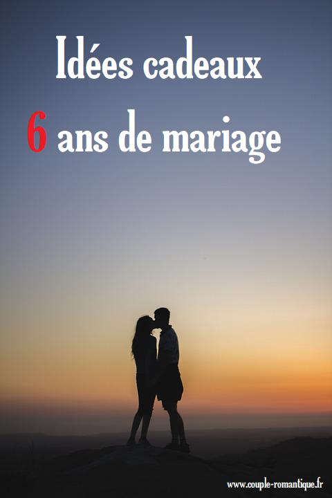 Trouvez Une Idée De Cadeau Pour 6 Ans De Mariage Diy