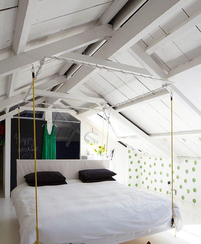 Idee per la camera da letto dei teenager mansarda - Camere da letto per teenager ...