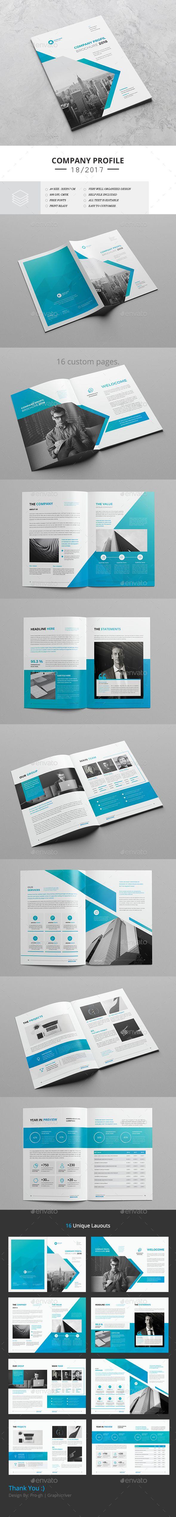Company Profile 2018 | Ideas de negocios y Ideas