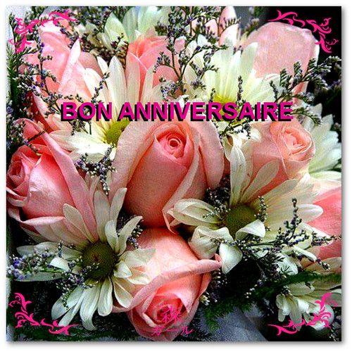 Bon Anniversaire Bouquet De Fleurs Anniversaire Bon Anniversaire Fleurs Bon Anniversaire