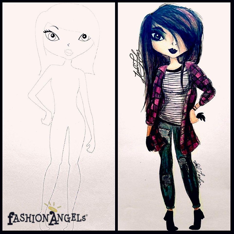 Pin By Jodi Taylor Art Studio On Fashion Angels Design Sketch