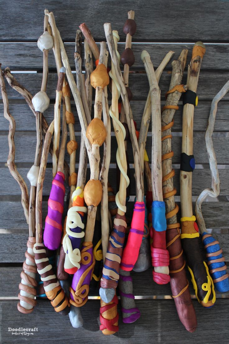 Harry Potter Craft Ideas For Kids Part - 41: Harry Potter Week! Make Your Own Magic Wands! ~ These Turned Out Great-.  Fairy CraftsCraft ActivitiesPreschool ...