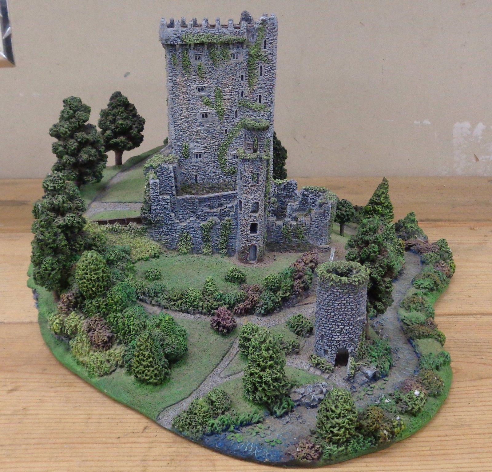 danbury mint blarney castle sculpture county cork with amazingly detail ireland ebay