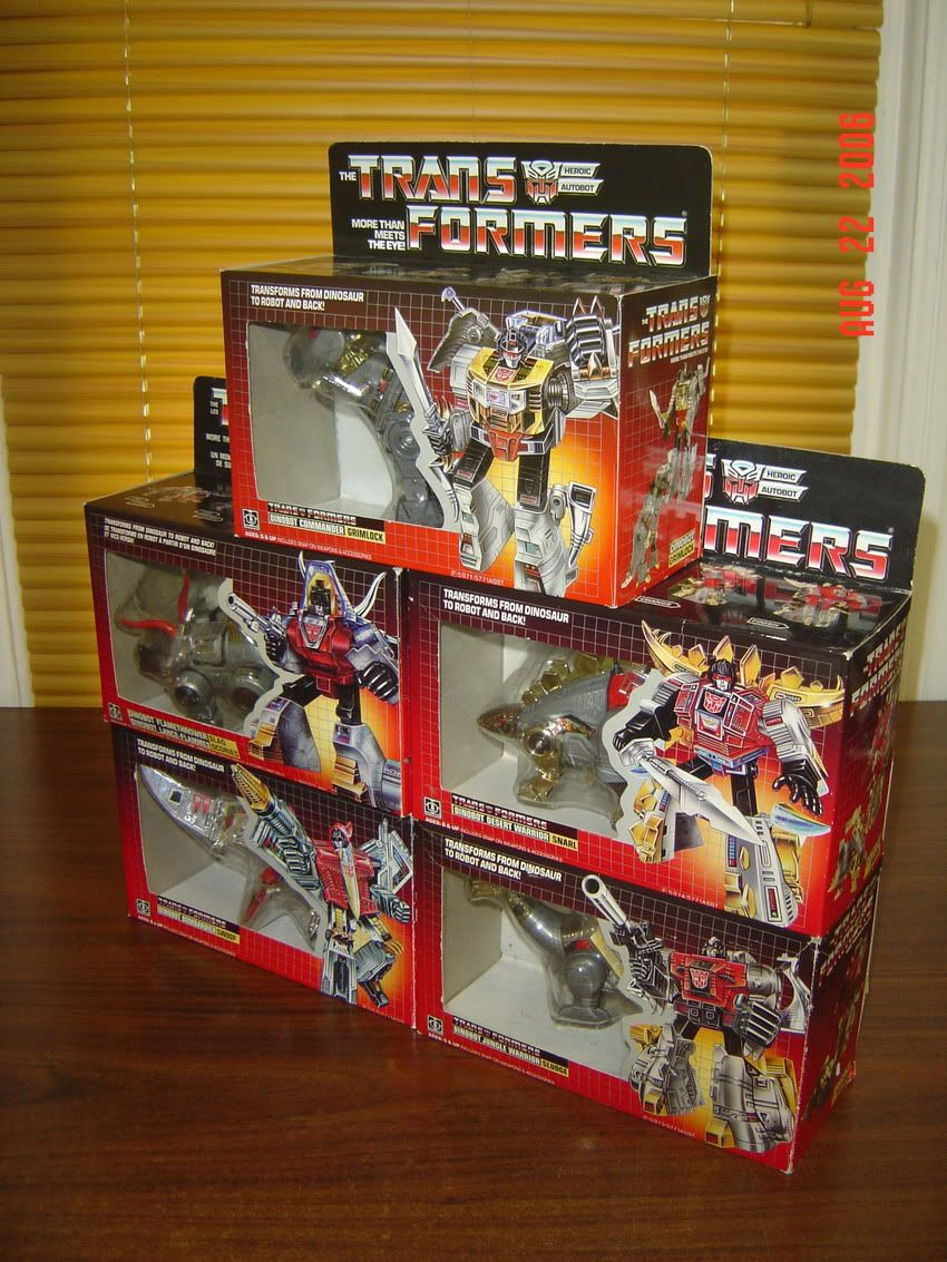 Billy's Transformers G1 collection - TFW2005 - The 2005 Boards