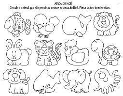 Resultado De Imagem Para Animais Selvagens Colorir Com Imagens
