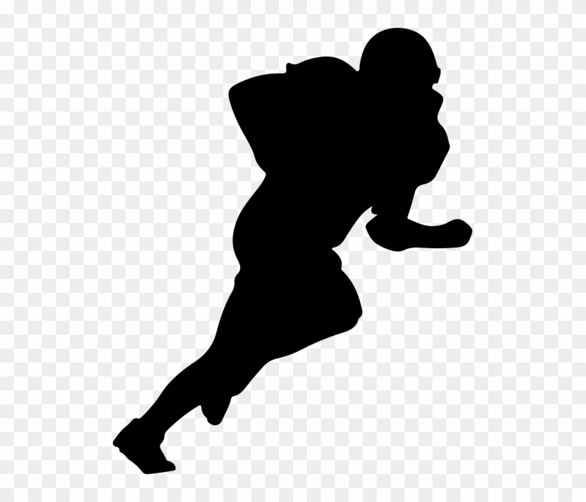 Google Image Result For Https Www Pngfind Com Pngs M 633 6330971 American Football Player Silhouette Png Transparent Png Png Trong 2020