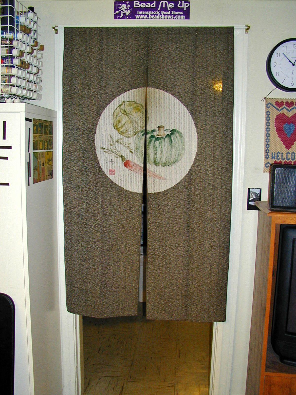 Delightful Japanese Door Curtain