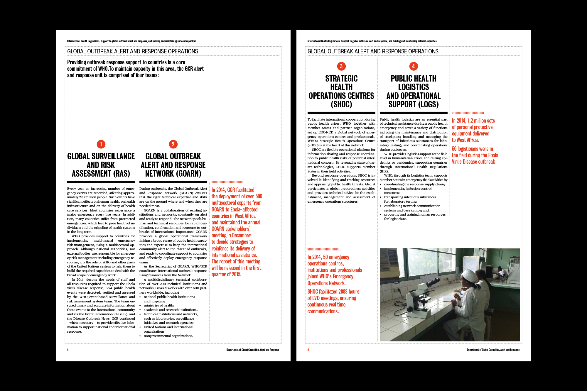 OMS — Rapport DPMT 2014 — catalogue — Gaspard Ollagnon