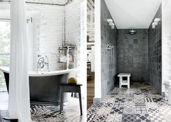 Marokkaans Franse Badkamer : Marokkaans franse badkamer inrichting huis