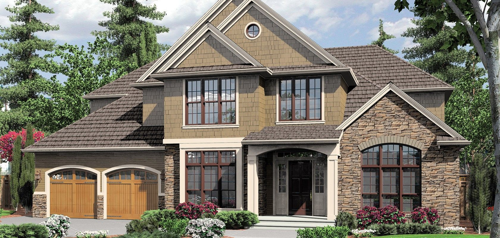 mascord house plan 2363ea the bradner craftsman style