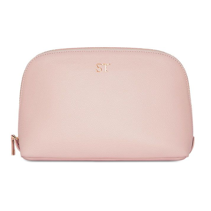 Grainy Large Cosmetic Case - Monogrammed Large Cosmetic Case - Personalised Makeup  Bag   Mon Purse 70217457e5