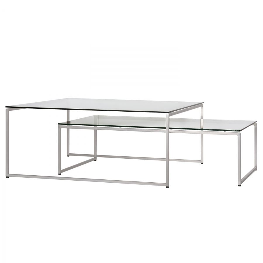 Couchtisch Lando couchtisch lando 2er set tables stainless steel and coffee