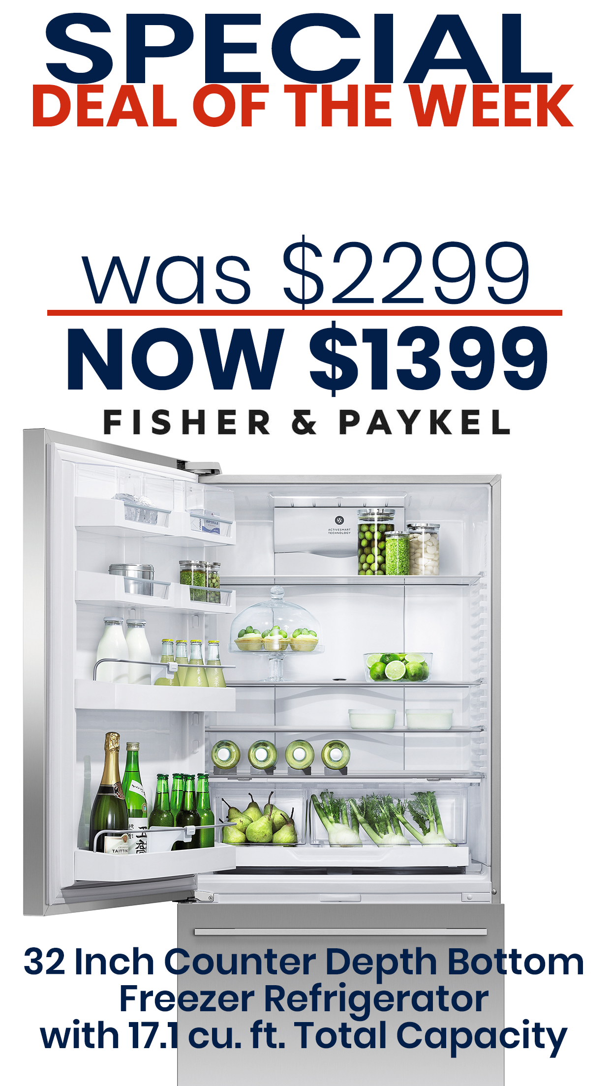Fisher paykel rfwdlux in appliances connection deals