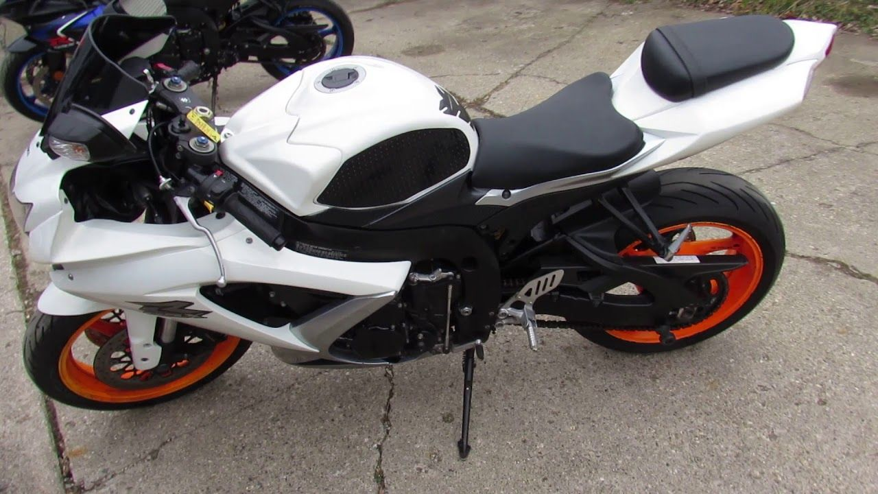 Used 2009 GSXR 750 for sale in Michigan U4381 | Motorcycles