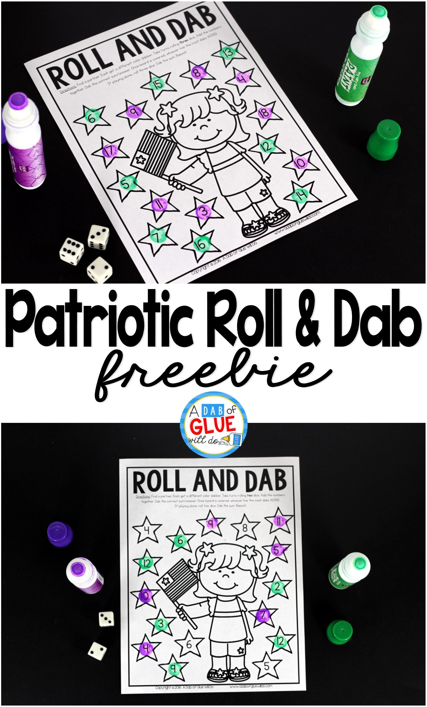 Patriotic Roll And Dab