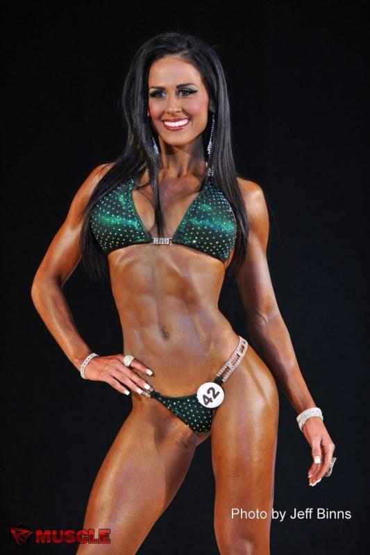 Ashley Kaltwasser 2013 Ifbb Pittsburgh Pro Bikini Fitness Competition Ashley Kaltwasser Skinny Bikini