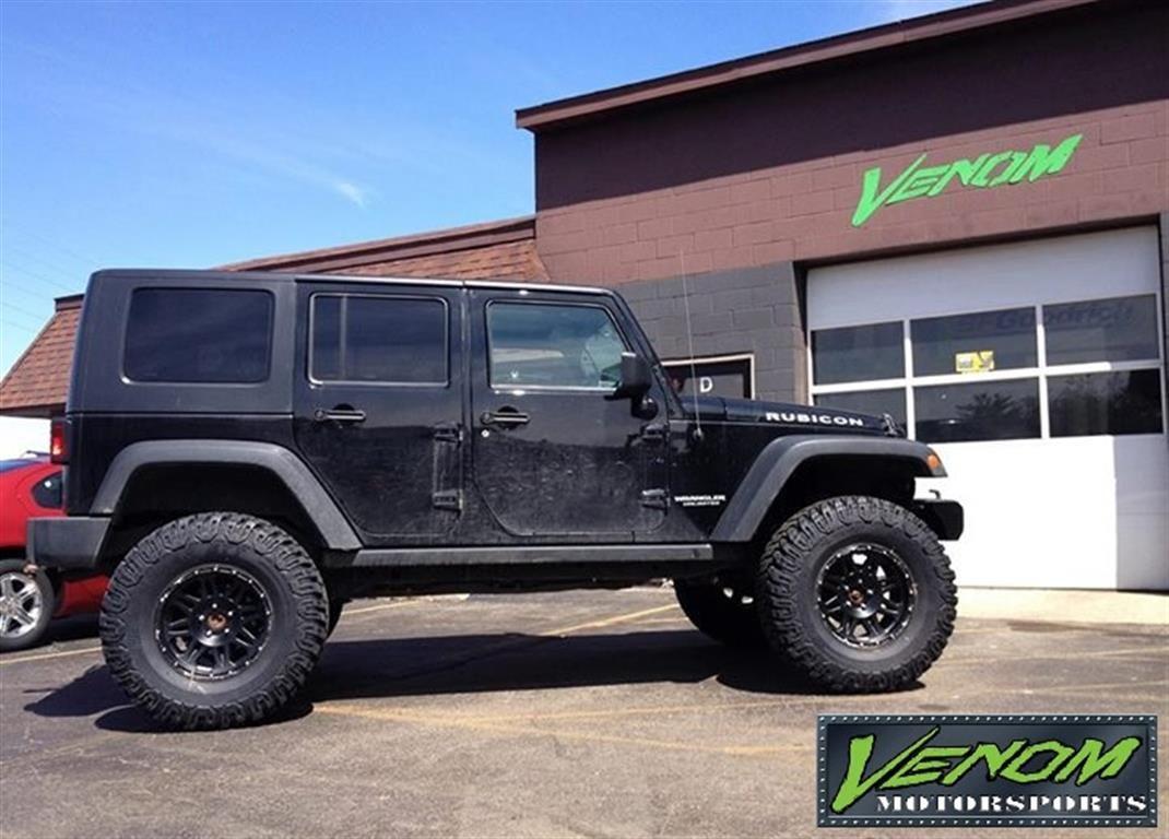 Jku Rubicon With 4inch Lift Venom Motorsports Grand Rapids Mi Us 158780 Custom Jeep Lifted Jeep Offroad Jeep