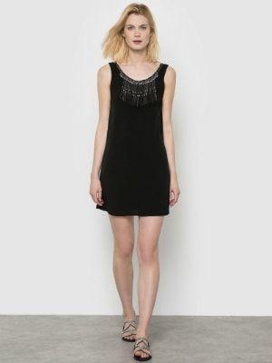 6ca589120dd Robe collier de See U Soon chez La Redoute   Grand cru de petites robes  noires - Journal des Femmes
