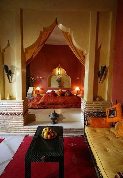 Moroccan Style Bedroom moroccan style bedroom #bedroom décor, beds, headboards, four