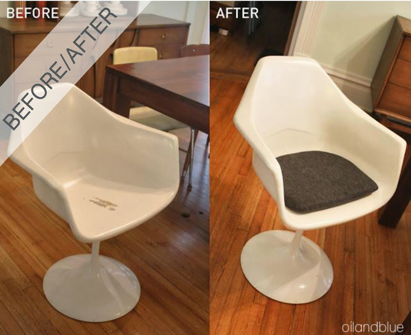 How To Make A Cushion For A Tulip Chair Replacement Cushion For