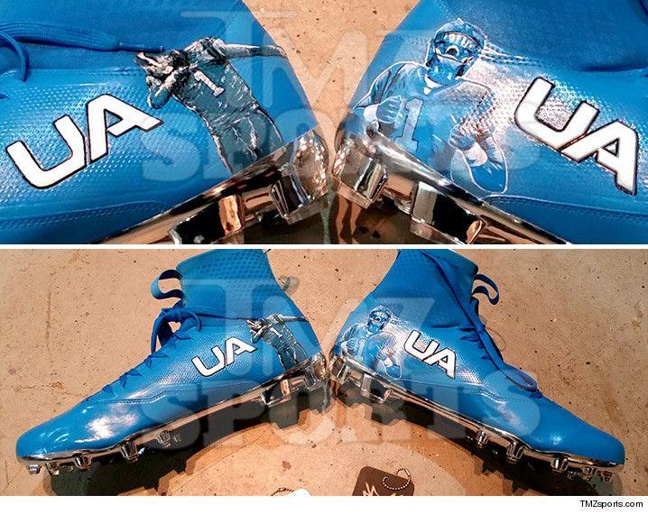 Cam Newton Shoes Superman