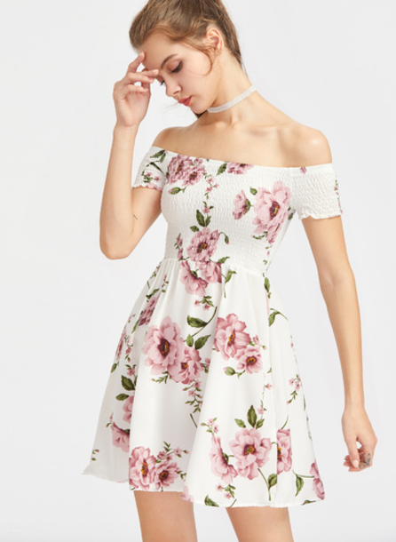 half off discount coupon purchase genuine Dainty Floral Dress | 2018 Fashion Inspiration | Boho floral ...