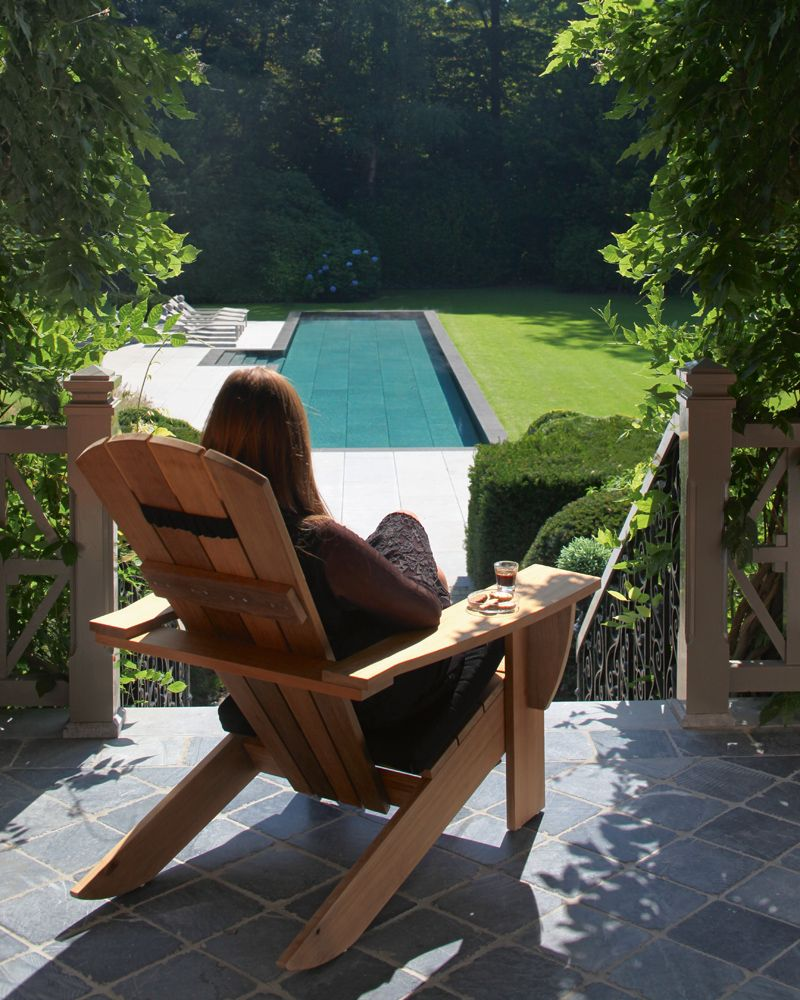 New England Lounge Chair, Contemporary Outdoor Furniture Design at ...