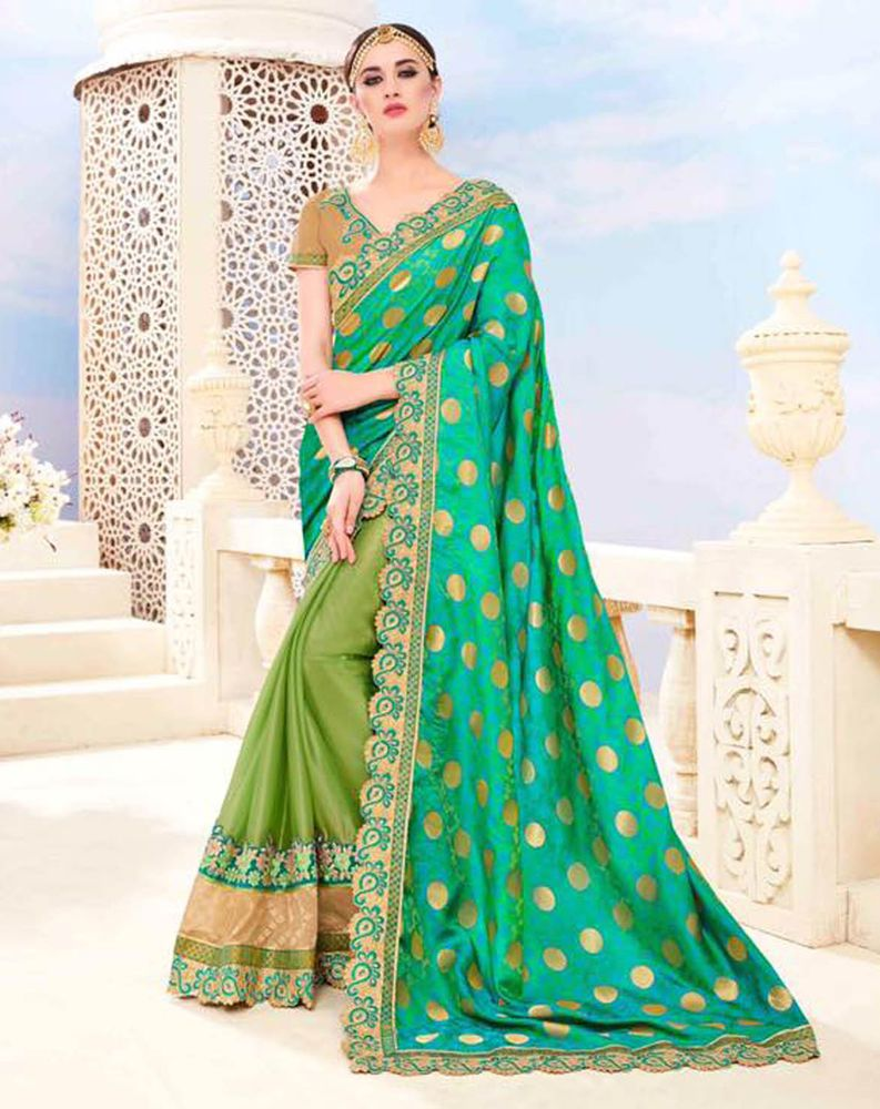 Bollywood Designer Ethnic Indian Pakistani Eid Wedding Partywear Saree Sari Suit #Shoppingover #Saree