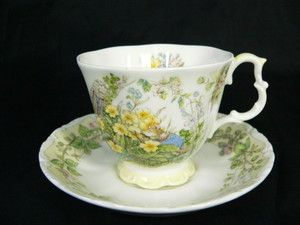Brambly Hedge Spring Miniature Cup and Saucer