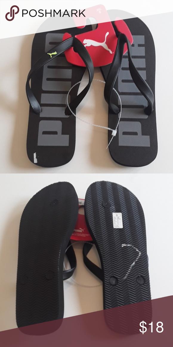 Stylish flip flops, Puma flip flops
