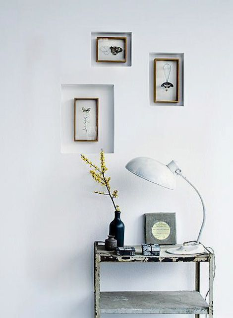 inset wall frames