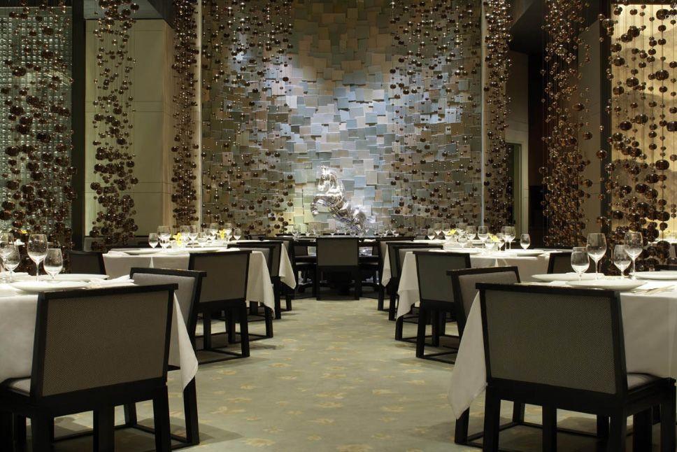 Famous Interior Designers Fin Restaurant Las Vegas Designed By George Yabu And Glenn Pushelberg Of