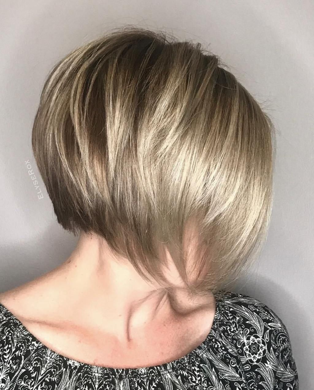 70 Winning Looks With Bob Haircuts For Fine Hair Stacked Bobs
