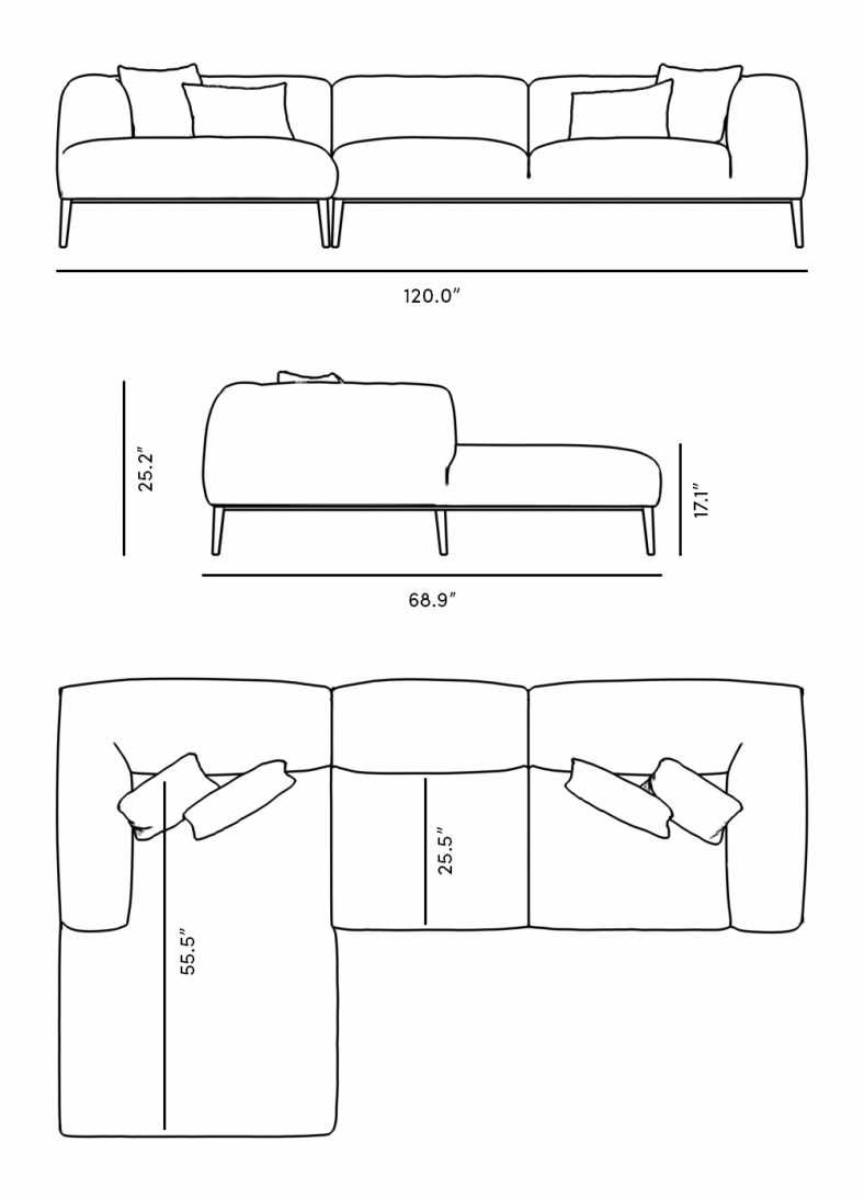 Finley Sectional Rove Concepts Rove Concepts Mid Century Furniture Drawing Furniture Drawing Room Design Furniture Layout