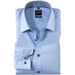 Olymp Level Five Shirt, body fit, New York Kent, Bleu, 38 Olymp -  Olymp Level Five Shirt, body fit,...