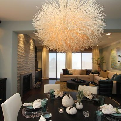 Lighting A Kitchen And Dining Room  Contemporary  Dining Room Custom The Living Room San Diego Decorating Design