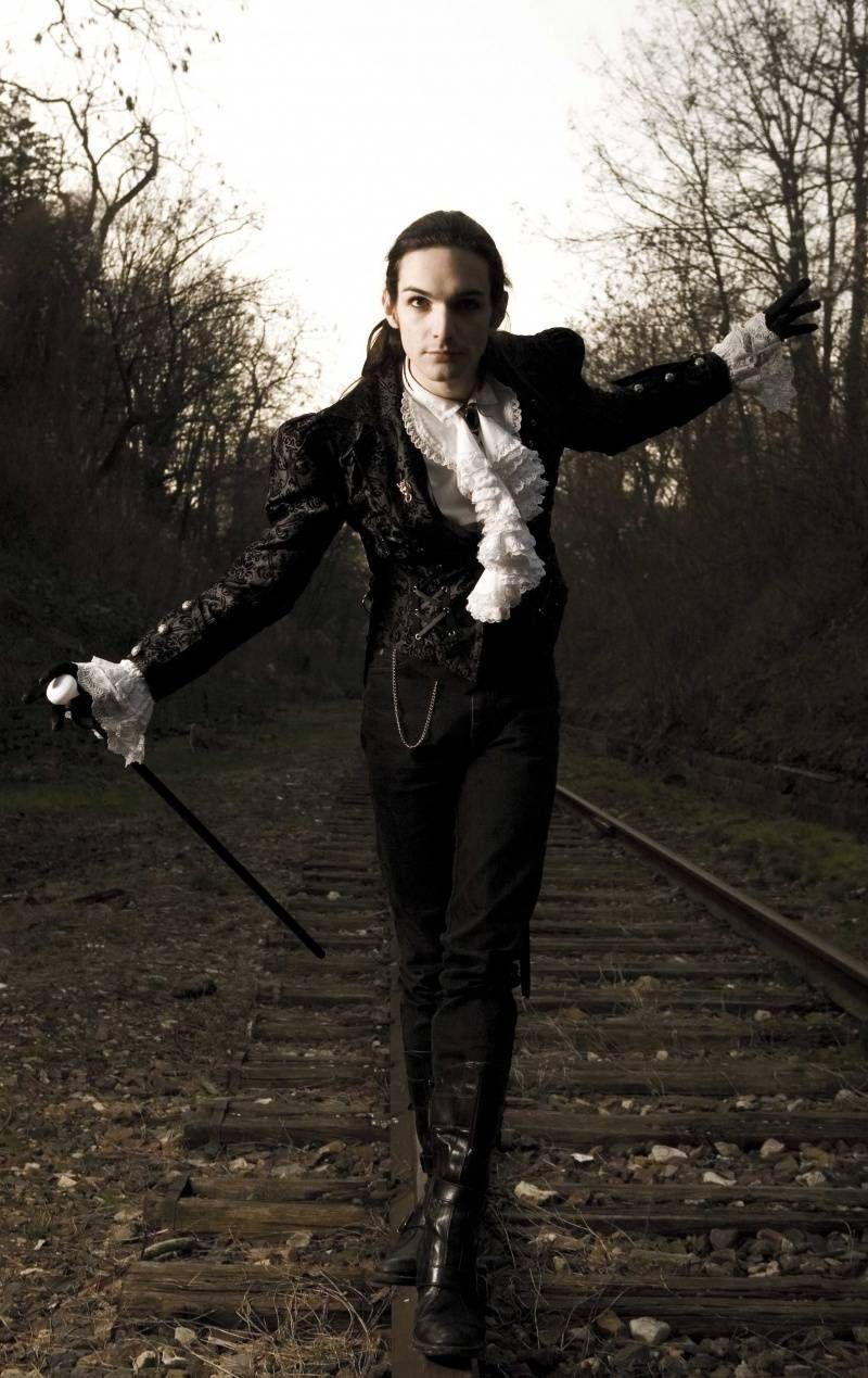 Goth style victorian goth guy wedding pinterest goth for Victorian gothic style