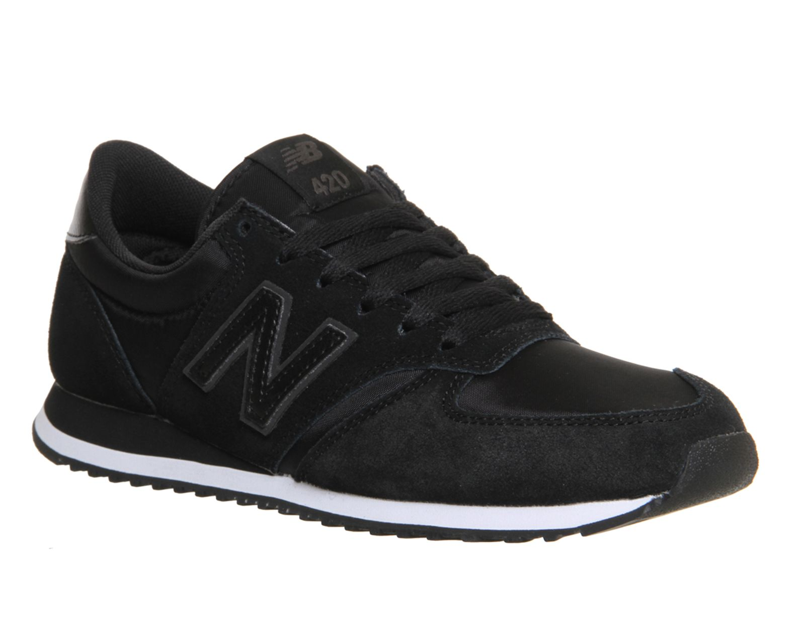 mens new balance black 420 trainers