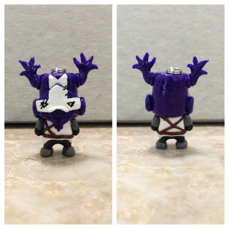 Purple Knight Castle Crashers Blacksmith Purple Knight Keychain By Nhatho On Castle Crashers Castle Halloween Haunt
