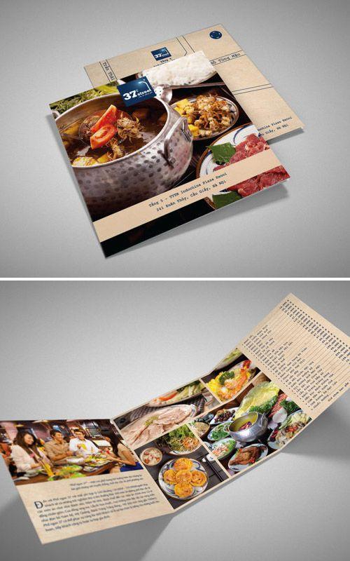 30 Inspired Restaurant Menu Brochure Designs You Must See Menu - restarunt brochure