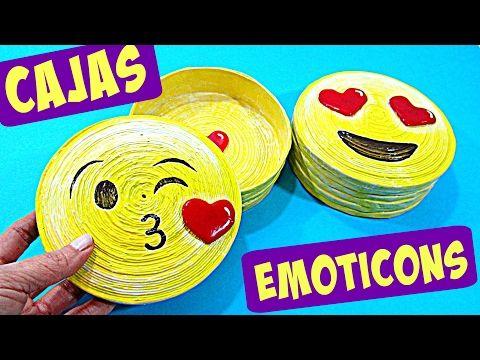 (67) Manualidades fáciles CAJAS EMOJIS (REGALO ORIGINAL SAN VALENTIN) DIY -  YouTube 0af42b0e80c