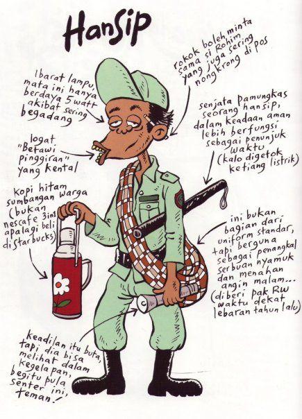 Hansip Benny And Mice Dengan Gambar Kartun Lucu Momen Lucu